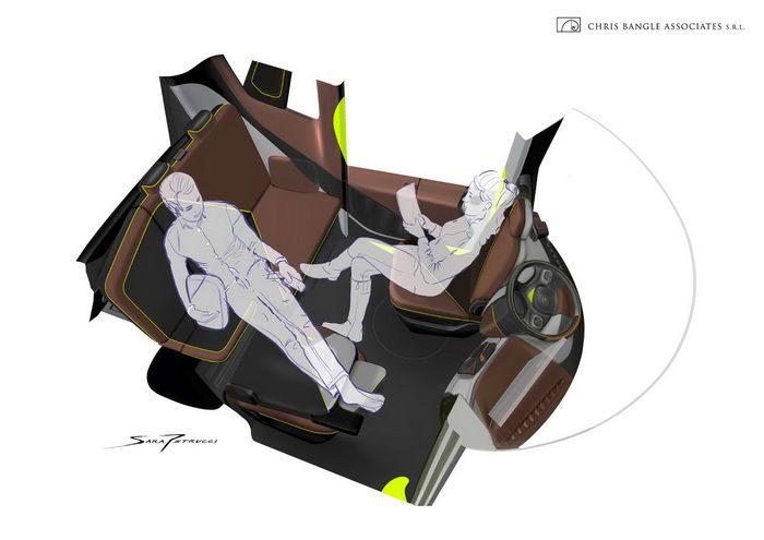 Концепт электрокара Redspace REDS EV от Криса Бэнгла
